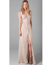 Elizabeth and James | Pink Grace Long Dress | Lyst