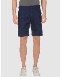 Engineered Garments - Blue Surplus Fatigue Short for Men - Lyst