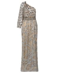 Naeem Khan | Natural Bead and Sequin Gown | Lyst
