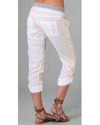 Splendid   White Linen Pants   Lyst