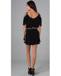 Temperley London | Black Silvana Mini Dress | Lyst