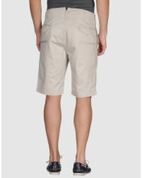 Woolrich - Natural Reversible Shorts for Men - Lyst