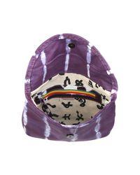 Sammy Ethiopia - Purple Tie Dye Leather Clutch Bag - Lyst