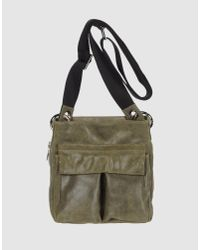 CoSTUME NATIONAL | Green Medium Leather Bag | Lyst