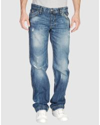 Dolce & Gabbana | Blue Used Denim Trousers for Men | Lyst