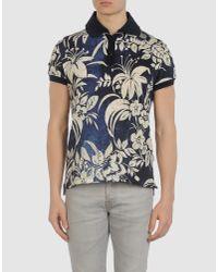 Dolce & Gabbana - Blue Bird-print Cotton-jersey T-shirt for Men - Lyst