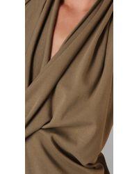 Jarbo - Natural Halter Dress - Lyst