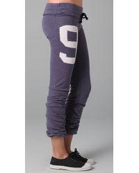 Wildfox | Purple Sporty 9 Skinny Malibu Sweatpants | Lyst