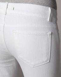 J Brand | White Lovestory Aspen Jeans | Lyst