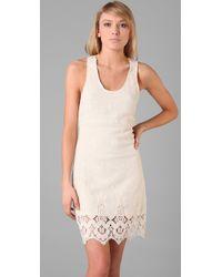 Leyendecker | White Trip Lace Dress | Lyst