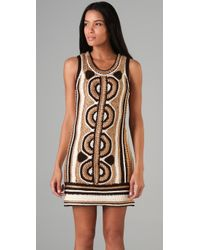 MILLY | Natural Crochet Tangier Dress | Lyst