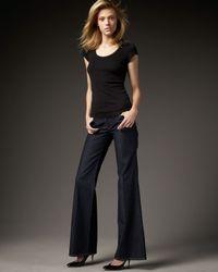 PAIGE | Blue Bentley Wide-leg Lahaina Jeans | Lyst