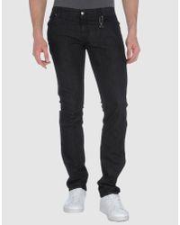CoSTUME NATIONAL - Black Denim Pants for Men - Lyst