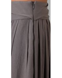 Richard Chai Love | Brown Palazzo Pants | Lyst