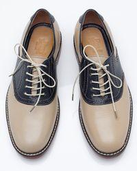 G.H. Bass & Co. | Blue Saddle Shoe for Men | Lyst