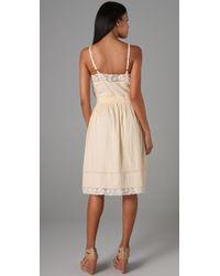 Rebecca Taylor | Natural Bohemian Cami Dress | Lyst
