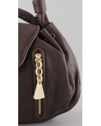 See By Chloé - Black Cherry Large Shoulder Bag - Lyst