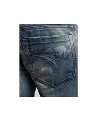 DIESEL | Blue Zathan Bootcut Jeans in 8y7 for Men | Lyst
