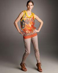 Jean Paul Gaultier - Natural Lace-up Jodhpur Pants - Lyst