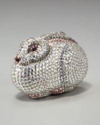 Judith Leiber | Metallic Rabbit Pill Box | Lyst
