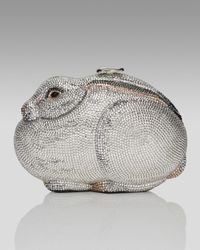 Judith Leiber   Metallic Rabbit Collectors Minaudiere   Lyst