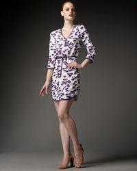 Marc Jacobs | Purple Pansy-print Shirtdress | Lyst