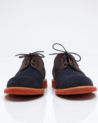 Mark McNairy New Amsterdam | Blue Suede Saddle for Men | Lyst