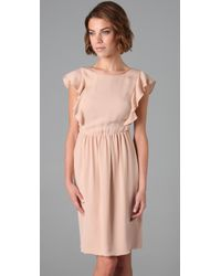 Theory - Pink Edmona Dress - Lyst