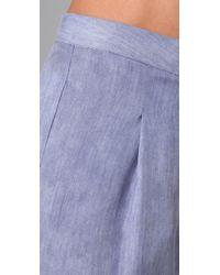Acne Studios | Purple Sensational Denim Shorts | Lyst