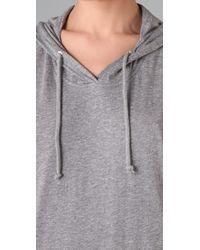 Cheap Monday | Gray Jersey Long Hood | Lyst