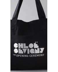 Opening Ceremony - Black Large Tote - Lyst