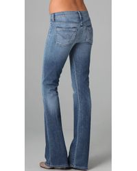 Citizens of Humanity   Blue Kelly Boot Cut Jeans   Lyst