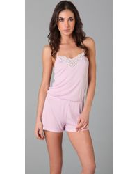 Dessous by Sophie Simmons | Pink Nicole Romper | Lyst