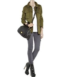 Marc By Marc Jacobs - Green Military-style Cotton-twill Jacket - Lyst