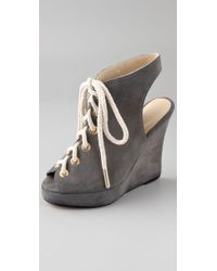 Opening Ceremony   Gray Stefania Wedge   Lyst