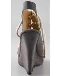 Opening Ceremony - Gray Stefania Wedge - Lyst