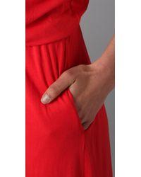 Velvet By Graham & Spencer | Red Portola Long Dress | Lyst