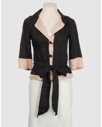 Pf Paola Frani | Black Blazer | Lyst
