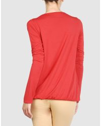 Pierre Darre' - Red Long Sleeve T-shirt - Lyst
