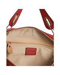 Chloé   Red Paraty Medium Leather Bag   Lyst
