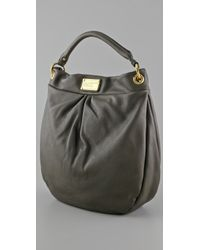 Marc By Marc Jacobs - Gray Hillier Hobo Bag - Lyst