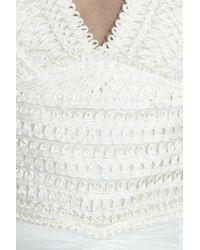 Thurley | White Cornelli Silk-georgette Gown | Lyst