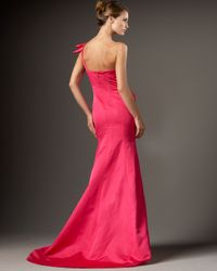 Redux Charles Chang-lima | Pink One-shoulder Mermaid Gown | Lyst