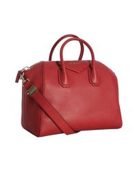 Givenchy | Red Medium Antigona Bag | Lyst