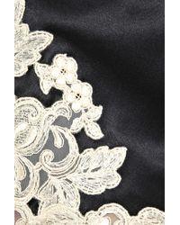 La Perla | Black Maison Silk-blend and Lace Shorts | Lyst