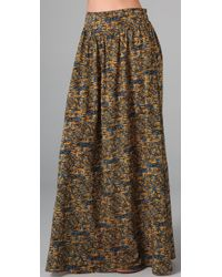 MINKPINK | Multicolor Mozambique Maxi Skirt | Lyst