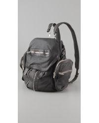 Alexander Wang | Gray Marti Backpack / Shoulder Bag | Lyst