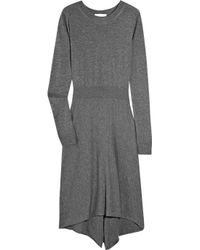 3.1 Phillip Lim | Gray Long Sleeve Knit Dress | Lyst
