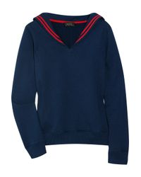 A.P.C. | Blue Sailor Sweatshirt | Lyst