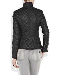Belstaff - Black Quilted Blouson Jacket - Lyst